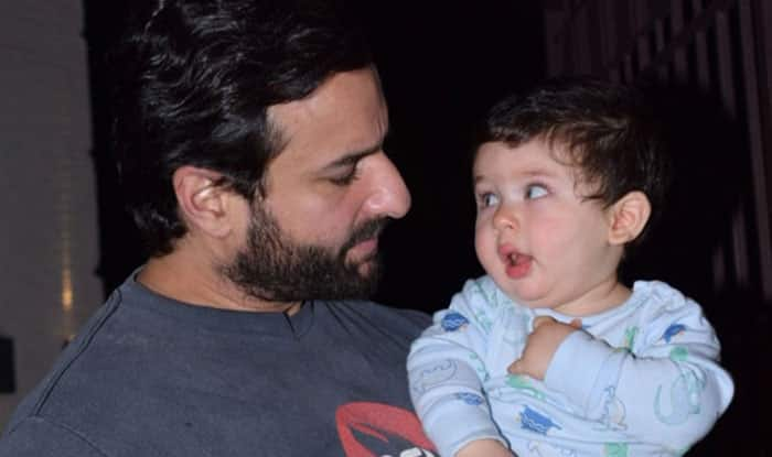 Taimur Ali Khan Gets Horse Riding Lessons From Daddy Saif Ali Khan Ahead Of His First Birthday (View Pic)