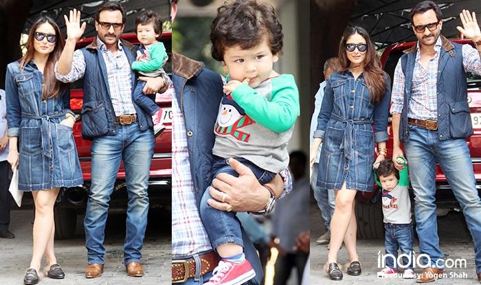 Taimur, Saif Ali Khan, Kareena Kapoor Khan And Others At Shashi Kapoor's Residence For Christmas Lunch (View Pics)