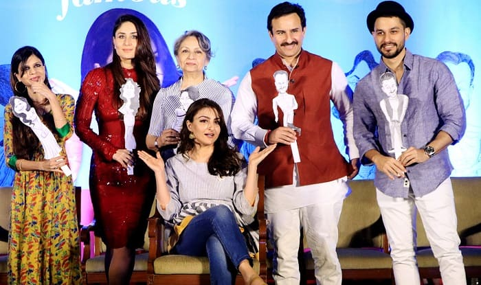 Saif Ali Khan, Kareena Kapoor Khan And The Entire Pataudi Clan Make A Striking Picture At Soha Ali Khan's Book Launch Event – View Pics
