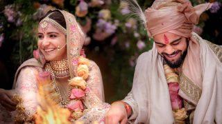 First Picture of Virat Kohli and Anushka Sharma's wedding is out   अनुष्का शर्मा और विराट कोहली के शादी की पहली तस्वीर आई सामने