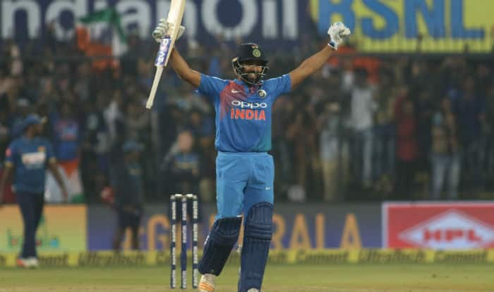 India vs Sri Lanka 2nd T20I: Rohit Sharma Scores Joint Fastest Century in T20Is