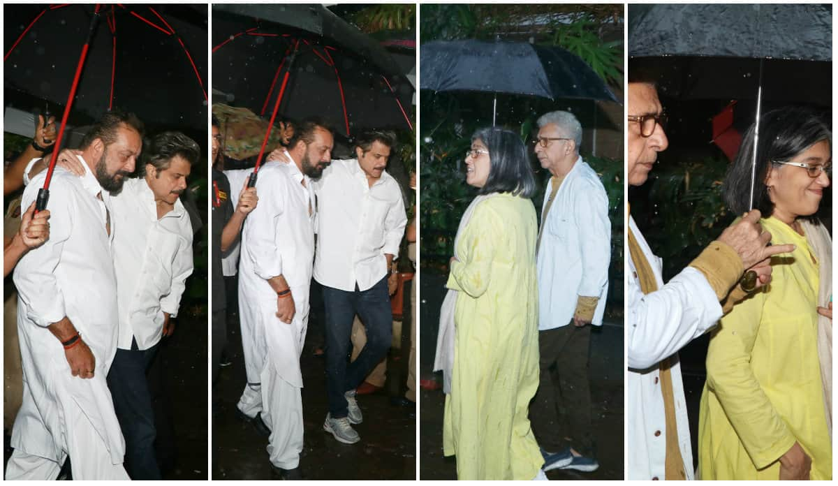 Shashi Kapoor Funeral: Veteran Actor's Body Brought Home; Sanjay Dutt, Anil Kapoor Reach To Pay Tribute