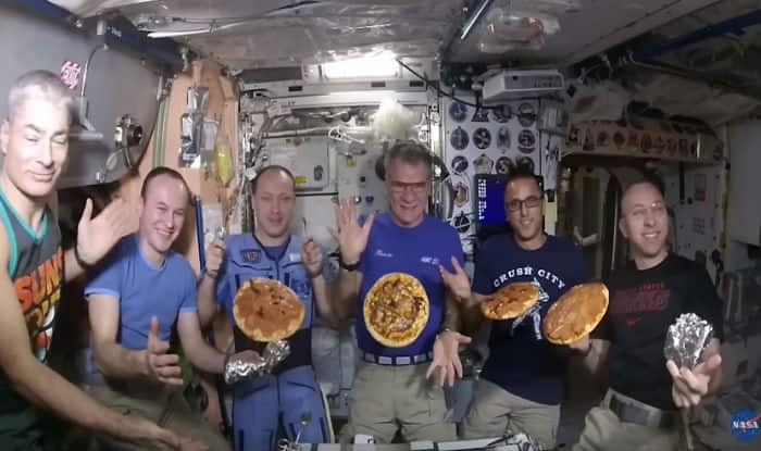 Astronauts Have a Pizza Party in Space and the Results Were 'Unexpectedly Delicious'