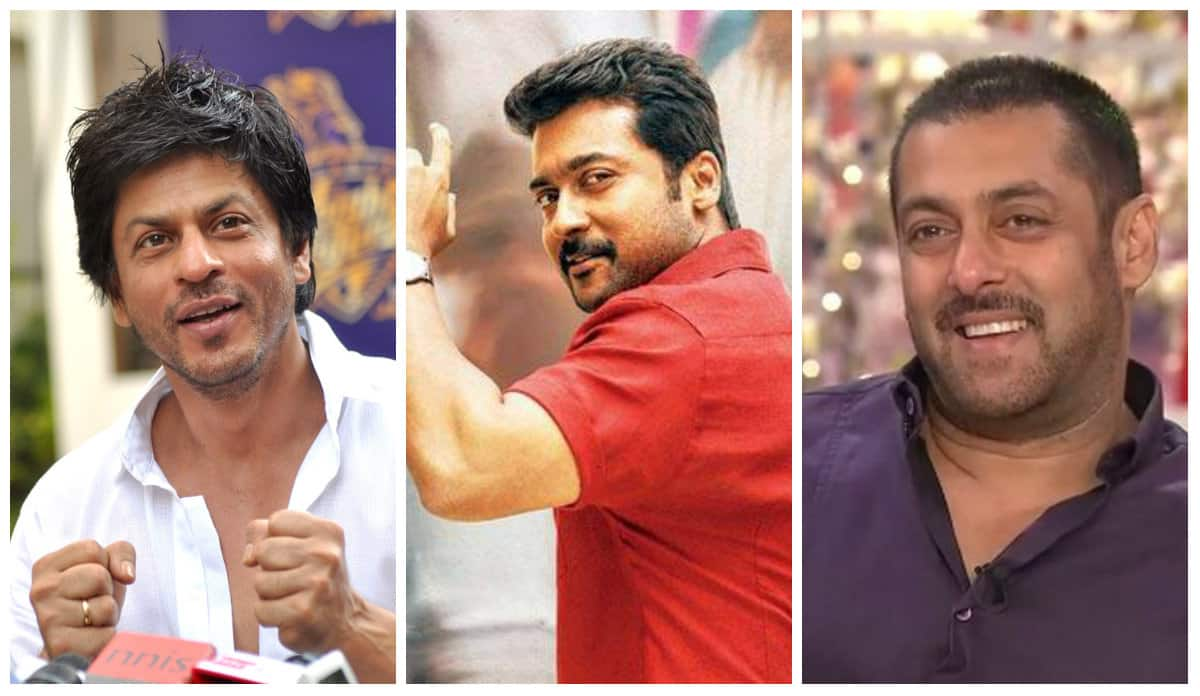 After Prabhas, Suriya Beats Shah Rukh Khan And Salman Khan