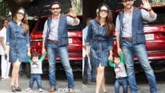 This Video Of Taimur Ali Khan Taking Baby Steps With Kareena Kapoor Khan and Saif Ali Khan Is The Best Thing You'll See Today