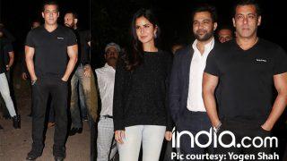 Salman Khan Rings In His 52nd Birthday With Katrina Kaif At His Panvel Farmhouse – View Pics