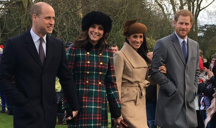 Viral Photo of Duke & Duchess of Cambridge, Prince Harry and Meghan Markle Captured by Woman is the Best First Picture of Fab Four