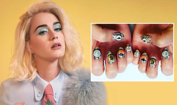 Pop Icon Katy Perry Joins Cryptocurrency Bandwagon; Posts Picture of Crypto-Themed Manicure on Instagram