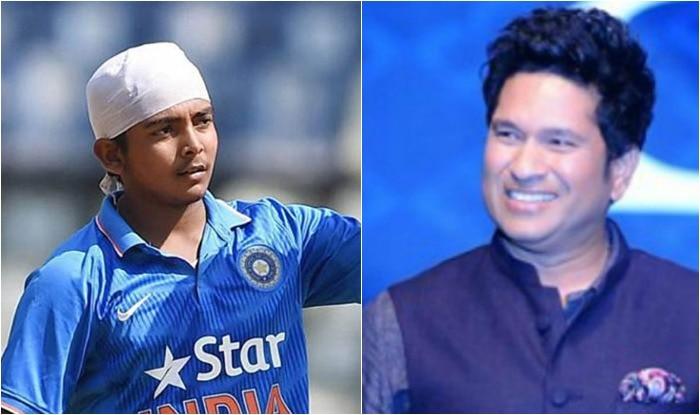 "Under-19 World Cup: ""That's Tendulkar,"" Ian Bishop reacts to a India Captain Prithvi Shaw drive | U-19 वर्ल्ड कप: पृथ्वी शॉ ने फ्रंट फुट पर आकर किया खूबसूरत ड्राइव, कमेंटेटर बोले- ये तेंदुलकर है"