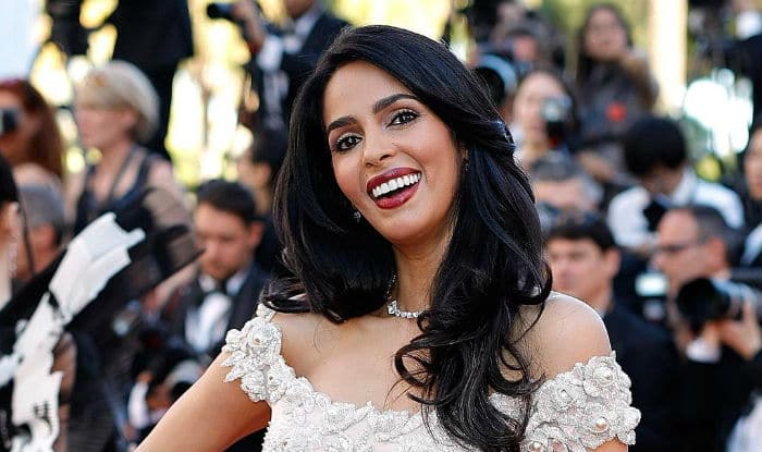 Mallika Sherawat Makes Stunning Appearance in Lilac Gown at Cannes Film Festival; View Pictures