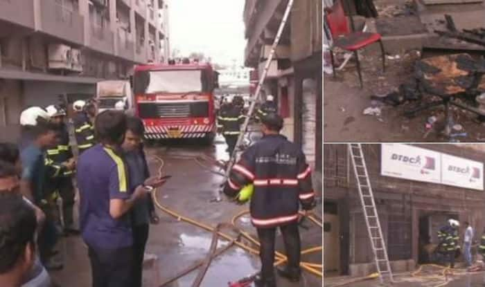 Mumbai: Fire at Shiv Shakti Industrial State Building in Lower Parel Doused