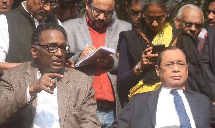 Supreme Court judges' historic press conference