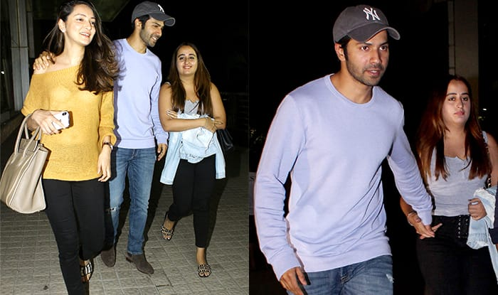 Varun Dhawan And Girlfriend Natasha Dalal Are Very Much A Couple But Didn't We Already Tell You That? (Pics)
