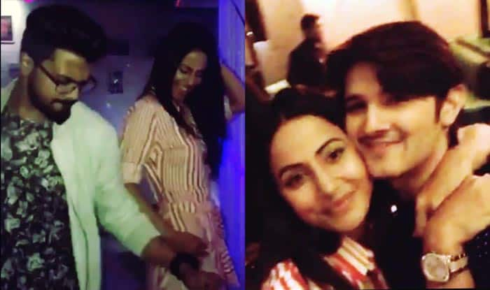 Bigg Boss 11 Contestant Hina Khan Dances Like No One's Watching With Boyfriend Rocky Jaiswal And Best Friend Rohan Mehra (Videos)