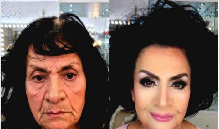 Makeup Artist Anar Agakishiev Known For Giving Age Defying Makeovers Shares Incredible Before And After Pics