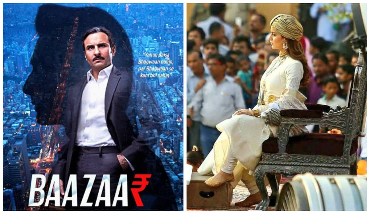 Saif Ali Khan's Baazaar Gets A Release Date; Set To Clash With Kangana Ranaut's Manikarnika: The Queen Of Jhansi