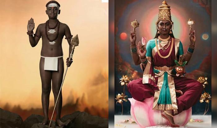 Dark Is Divine: Chennai Based Photographers Recreate Hindu Deities With Dark Skin