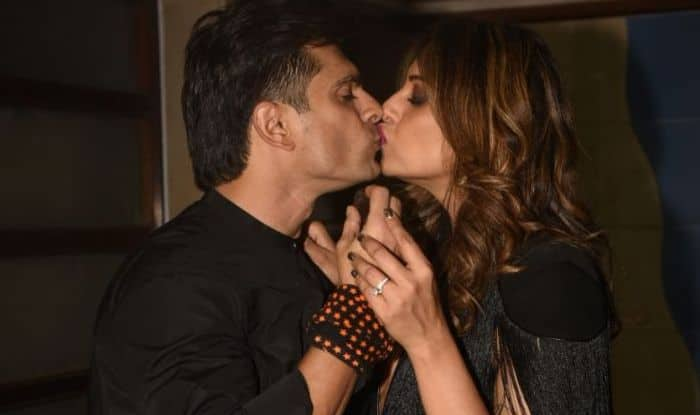 Karan Singh Grover Shares Hot Cozy Moments With Wife Bipasha Basu as They bid you Good Night- View Pics