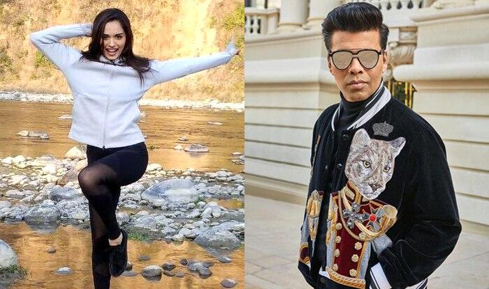 Karan Johar To Launch Miss World Manushi Chhillar In His Production?