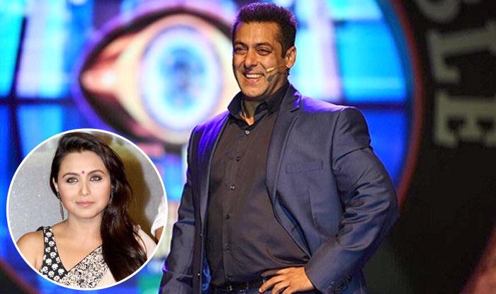 Bigg Boss 11: Rani Mukerji To Visit The Sets Of Salman Khan's Show To Promote Hitchki