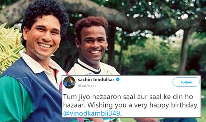Sachin Tendulkar Wished Vinod Kambli on his Birthday, Twitterati