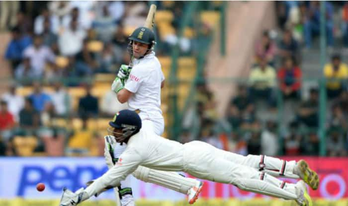 Wriddhiman Saha Breaks MS Dhoni's Record, Becomes First Indian Wicket-Keeper to Affect 10 Dismissals in a Test Match
