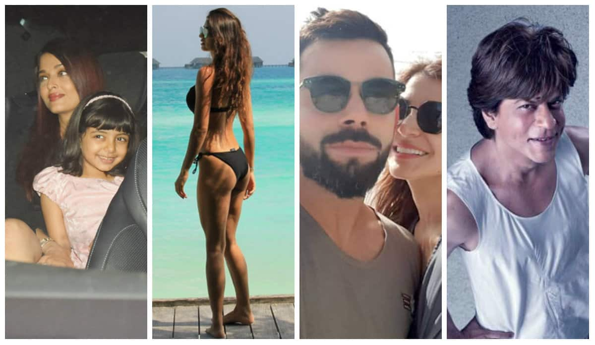 Viral Pics Of The Week: Disha Patani – Tiger Shroff, Virat Kohli – Anushka Sharma, And More Star In The First Week Of 2018