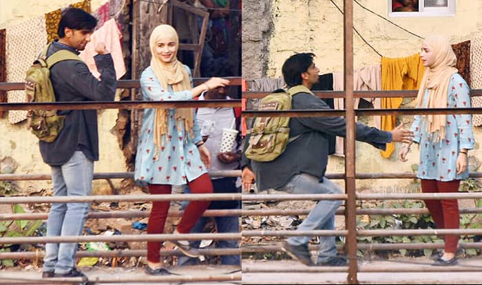 Gully Boy On The Sets : Alia Bhatt And Ranveer Singh Look Unrecognisable In These Leaked Pictures