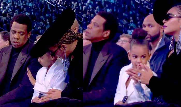 Blue Ivy Gesturing Parents Beyonce and Jay-Z to Stop Clapping at Grammys 2018 is Viral (Video)
