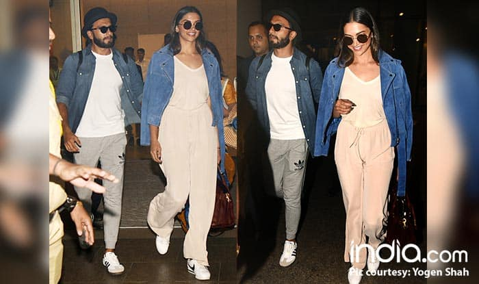 Deepika Padukone And Ranveer Singh Return From Sri Lanka Together And We Don't See A Ring