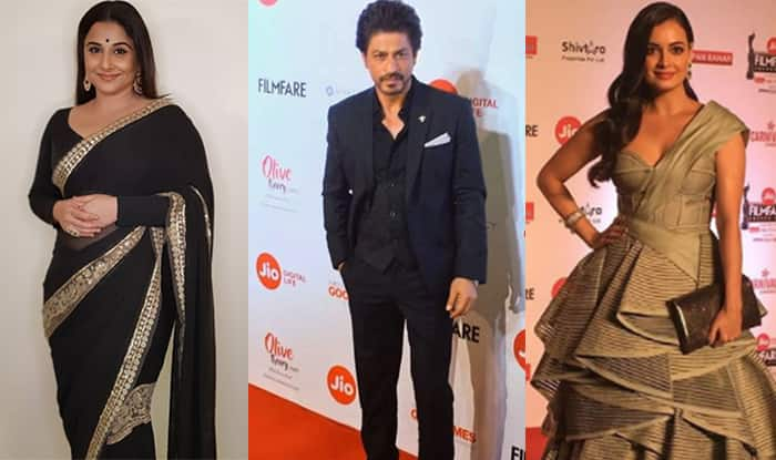 Filmfare Awards 2018 Red Carpet: Shah Rukh Khan, Kajol, Vidya Balan, Dia Mirza, Madhuri Dixit, Karan Johar And More Celebs Sizzle At The Awards Night