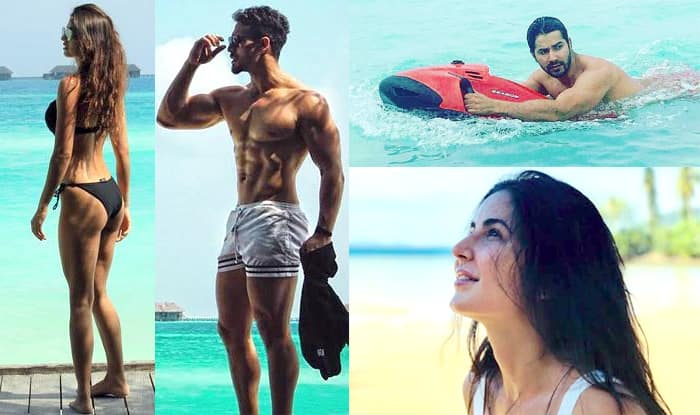 Disha Patani, Tiger Shroff, Katrina Kaif, Varun Dhawan Show Off Their Sexy Side As They Enter 2018 – View Pics