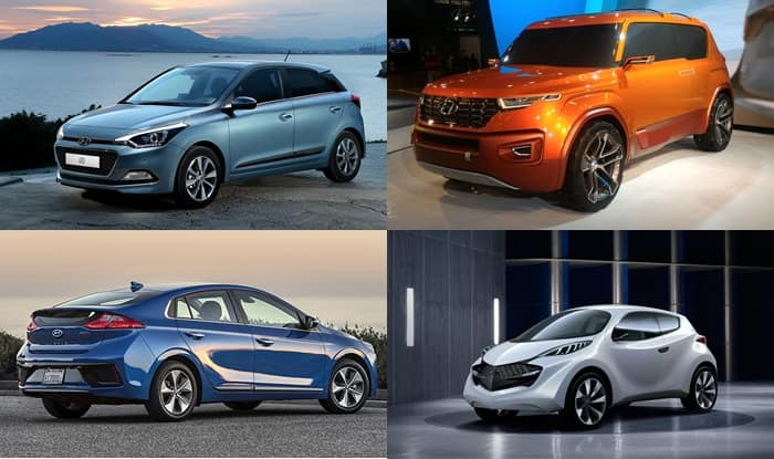 Hyundai Cars Coming To Auto Expo 2018 Kona Suv Ioniq Electric New I20 Elite 2018 Facelift To Be Showcased Tomorrow India Com