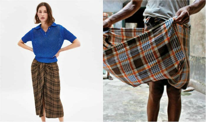379d552d7f Global Retailer Zara Selling Lungis as Skirts For Rs 6,200 | World ...
