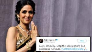 Sridevi Death: Several Actors Are Requesting All to #LetHerRestInPeace