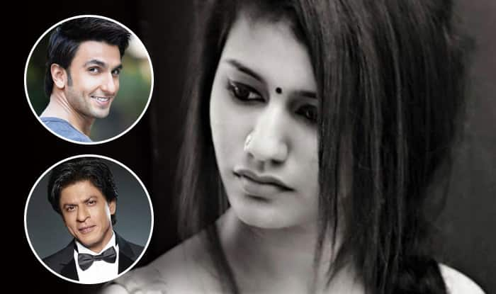 Priya Prakash Varrier's Bollywood Wishlist : Shah Rukh Khan, Ranveer Singh And More