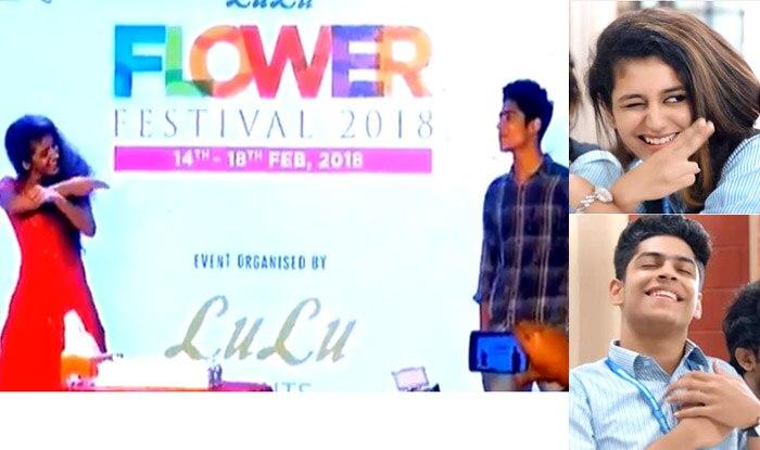 Priya Prakash Varrier – Roshan Abdul Rahoof Recreate Scenes From Oru Adaar Love Song At A Kochi Mall; Send Fans Into A Frenzy (Video)