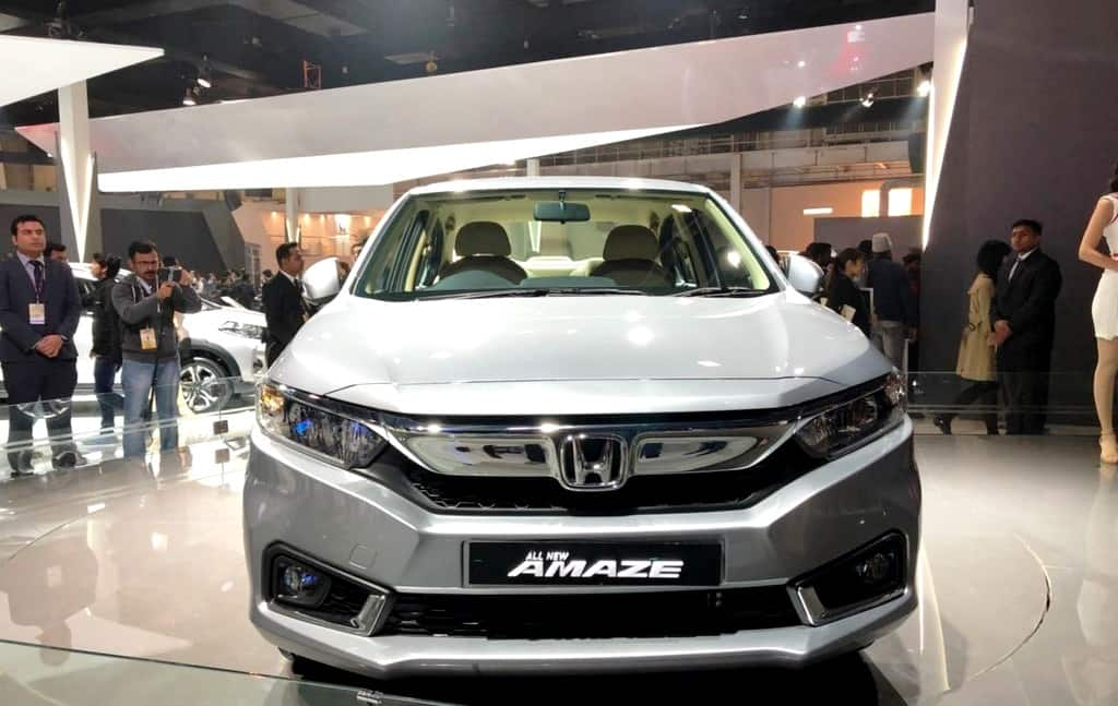 Auto Expo 2018: New Honda Amaze 2018 Officially Unveiled in India; Launch Date, Specs, Images, Features