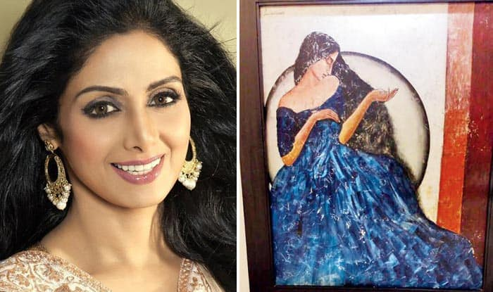 Not Just A Great Actress, Sridevi Was A Great Painter As Well, This Picture Is Proof
