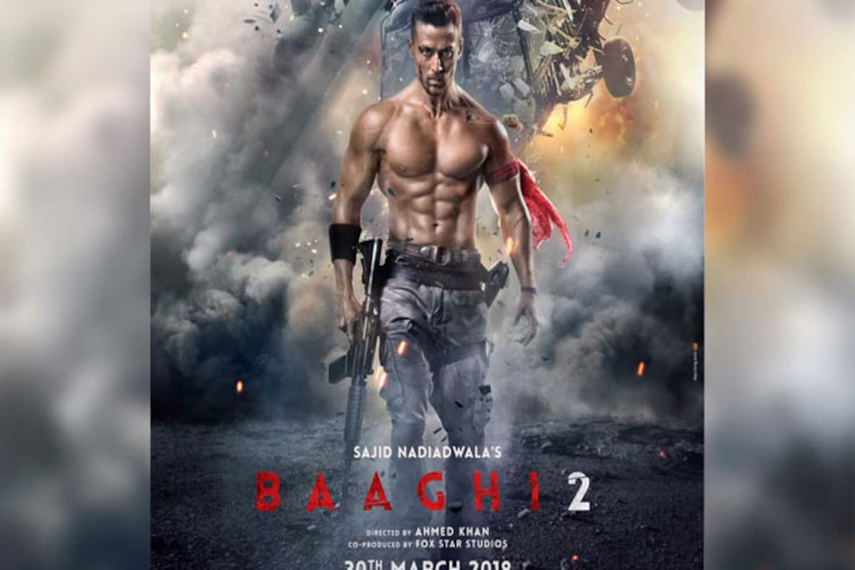 Baaghi 2 First Look Poster: Tiger Shroff Is Back In Full Power As Ronnie –  See Pic | India.com