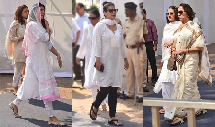 Sridevi Condolence Meet: Kajol, Jacqueline Fernandez, Hema Malini Arrive To Bid Goodbye To The Late Bollywood Actress