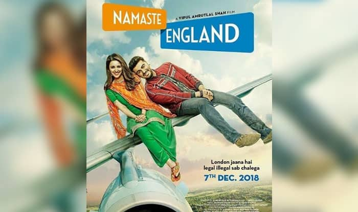 Namaste England First Look Out : Arjun Kapoor And Parineeti Chopra Are Willing To Bend The Rules To Get To London