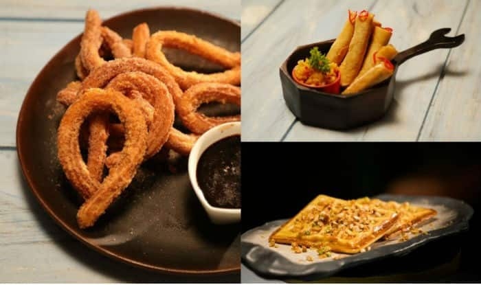 Snacks Recipe: How to Make Soya Cigars, NRI Waffles and Churros with Spicy Chocolate