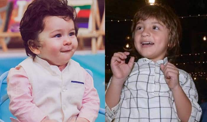 Taimur Ali Khan And AbRam Khan Bonded Over Toy Cars At Yash And Roohi's Birthday Bash?
