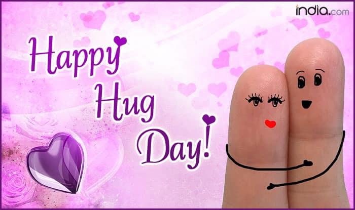 Happy Hug Day 2018: Best Wishes, SMS, WhatsApp Forwards, Facebook Status, GIF to Send to Your Valentine