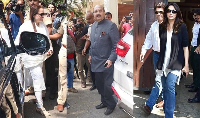 Madhuri Dixit Nene, Amar Singh, Jaya Prada Visit Anil Kapoor's Residence To Console Janhvi Kapoor After Sridevi's Sudden Death – See Pics