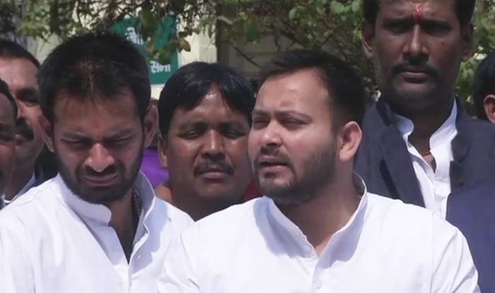Muzaffarpur Hit-and-run Case: RJD-led Opposition Protests Inside Bihar Assembly Demanding Manoj Baitha's Arrest