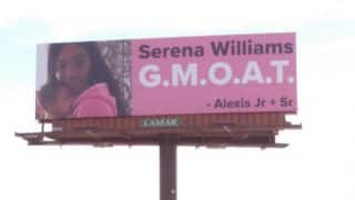 Serena Williams' Husband Alexis Ohanian Celebrates Her Return To Tennis With Four Billboards