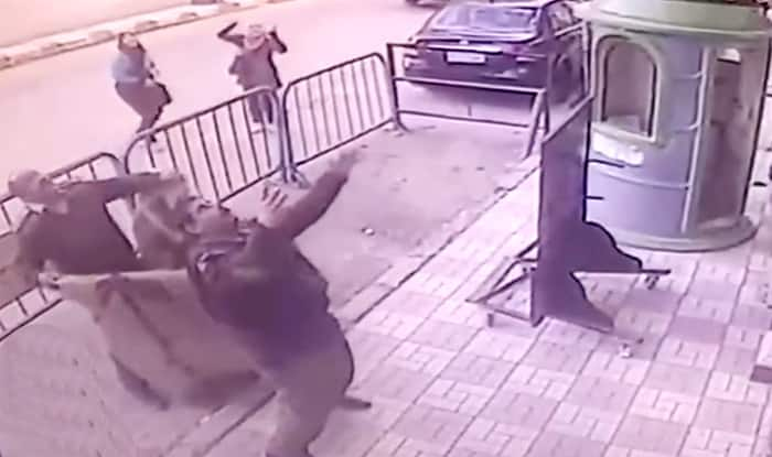 Viral Video Shows Egyptian Police Catch 5-Year-Old Boy Falling From Third Floor