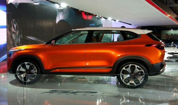 Kia SP Concept (Hyundai Creta Rival) Unveiled at Auto Expo 2018; India Launch by End 2019